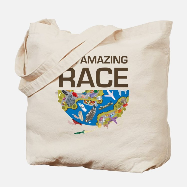 The Amazing Race Transportation Tote Bag