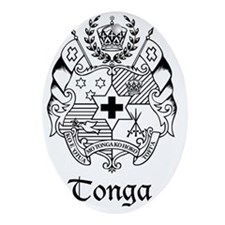 The Coat of Arms - Sila o Tonga Oval Ornament