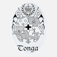 The Coat of Arms - Sila o Tonga Oval Ornament