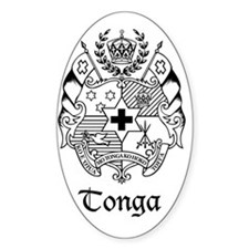 The Coat of Arms - Sila o Tonga Decal