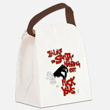 The Santa Canvas Lunch Bag