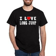 I Love Long Jump T-Shirt