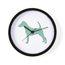 Paisley Foxy Wall Clock