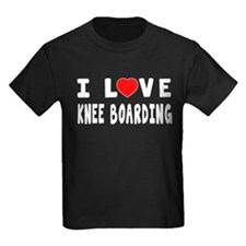 I Love Knee Boarding T