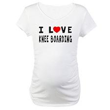 I Love Knee Boarding Shirt