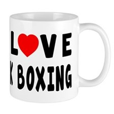 I Love Kick Boxing Mug