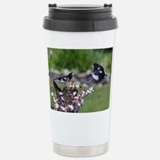 Rose-breasted Grosbeaks Stainless Steel Travel Mug