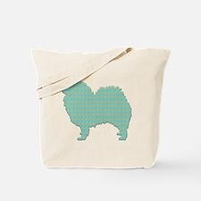 Paisley Spitz Tote Bag