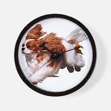 Cavalier Running- Blenheim Wall Clock