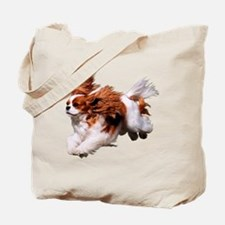Cavalier Running- Blenheim Tote Bag