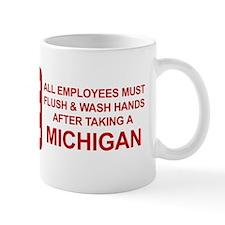 Flush Michigan Mug