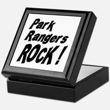 Park Rangers Rock ! Keepsake Box