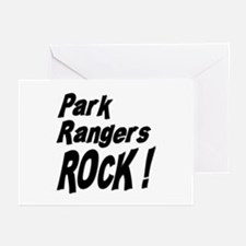 Park Rangers Rock ! Greeting Cards (Pk of 10)