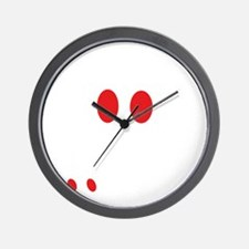 Poor student Wall Clock