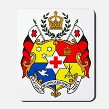 The Coat of Arms - Sila o Tonga Mousepad