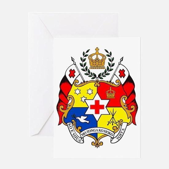 The Coat of Arms - Sila o Tonga Greeting Card