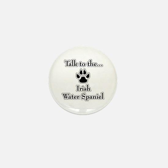 Water Spaniel Talk Mini Button