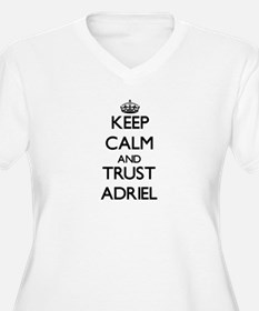 Keep Calm and TRUST Adriel Plus Size T-Shirt