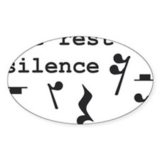 The rest is silence Decal