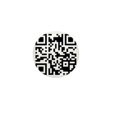 Crumbs in the Bed Website QR Code Mini Button