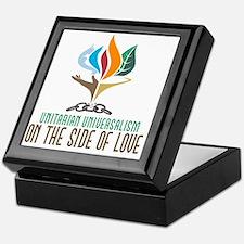UU On the Side of Love Keepsake Box