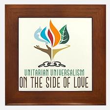 UU On the Side of Love Framed Tile