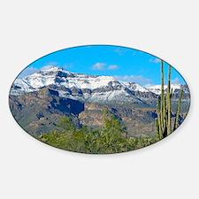 Superstition Peak Snow Decal