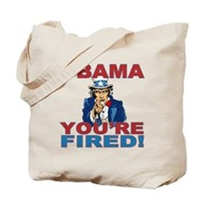 obama your fired Tote Bag