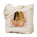 Twin angels Tote Bag