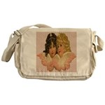 Twin angels Messenger Bag