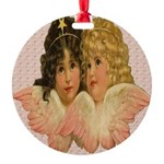 Twin angels Ornament