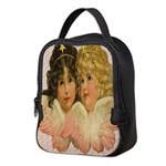 Twin angels Neoprene Lunch Bag