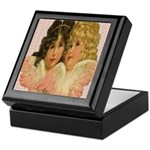 Twin angels Keepsake Box