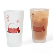 Mochi Love Drinking Glass