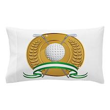 Golf Emblem Pillow Case