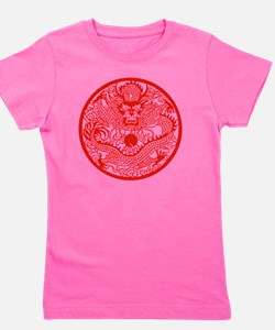 Asian Dragon Girl's Tee