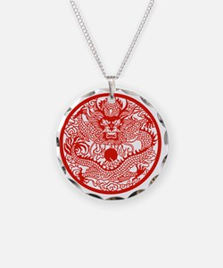 Asian Dragon Necklace