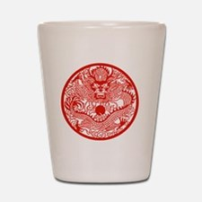 Asian Dragon Shot Glass