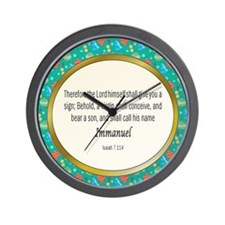 Immanuel Wall Clock