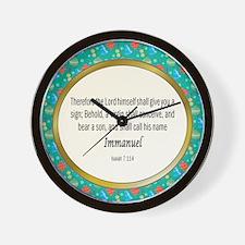 Immanuel Wall Clock