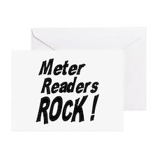 Meter Readers Rock ! Greeting Cards (Pk of 10)