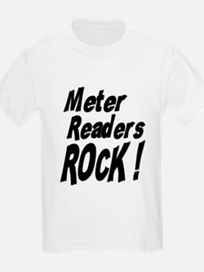 Meter Readers Rock ! Kids T-Shirt