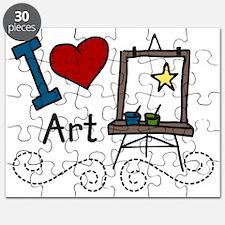 I Love Art Puzzle