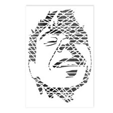 Love Revolution Face (Fad Postcards (Package of 8)