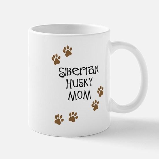 Siberian Husky Mom Mugs