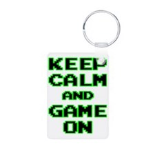 GAME ON Keychains