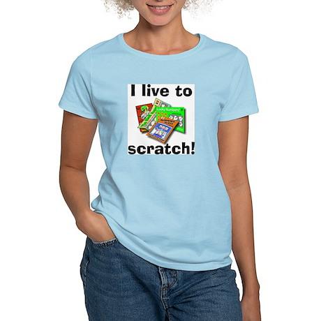 Scratch-off Women's Light T-Shirt