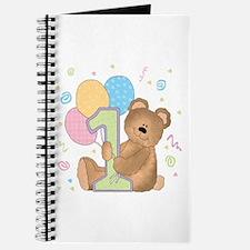 Beary Good 1st Birthday Journal