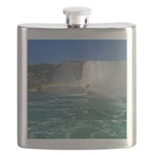American Falls And Rainbow Flask