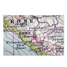 Kozzi-rome_map-2387x1591  Postcards (Package of 8)